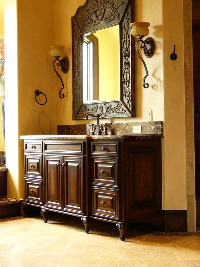 Custom Bathroom Woodwork