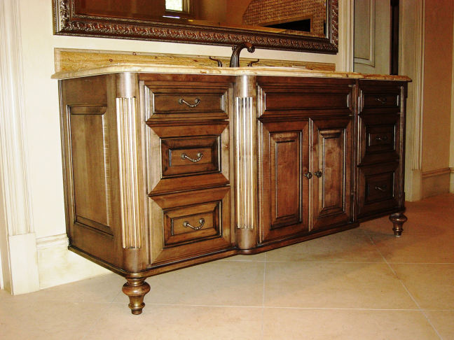 Custom Bathroom Furniture
