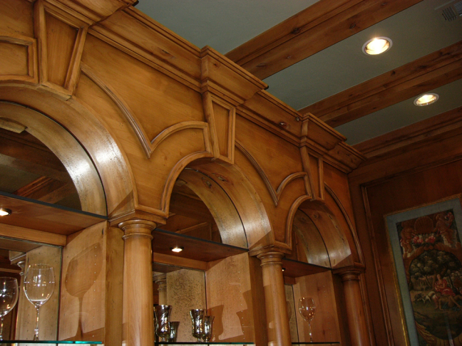 Woodwork Displays