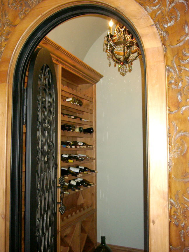 Custom Cabinets Wine Grotto