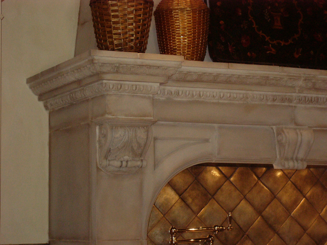 Column, Mantle Detail