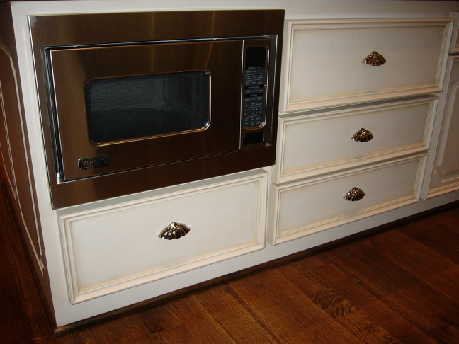 Custom Appliance Cabinets