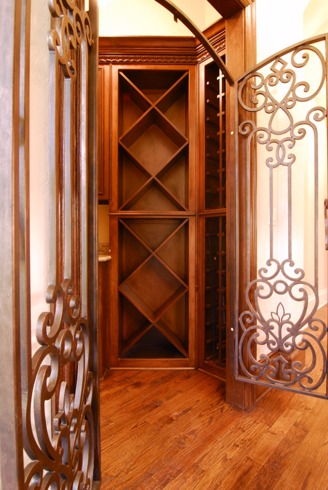 Custom Wine Storage Cabinets