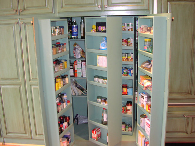 Kitchen Cabinet Storage