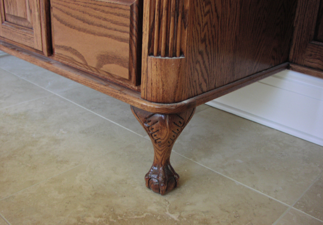 Claw Footed Cabinets