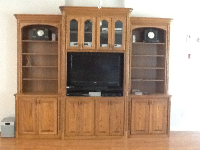 Custom Living Room Cabinetry