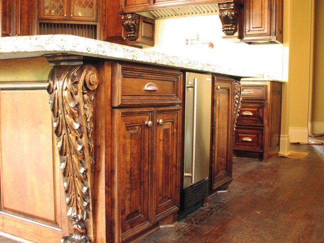 Scrollwork Cabinet