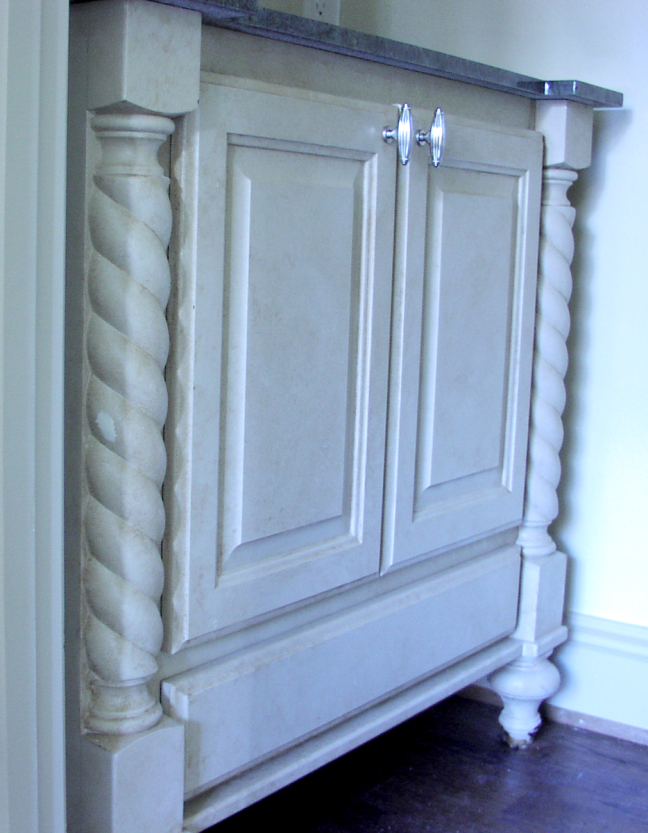Cabinet Scrollwork