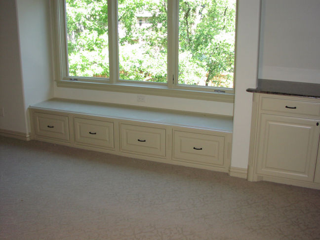 Bay Window Storage & Seating