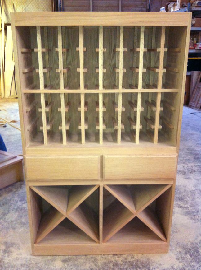 wine rack construction