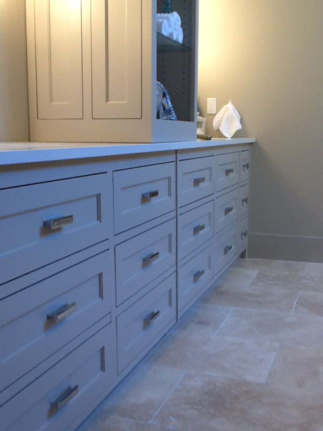 Custom Cabinets Bathroom