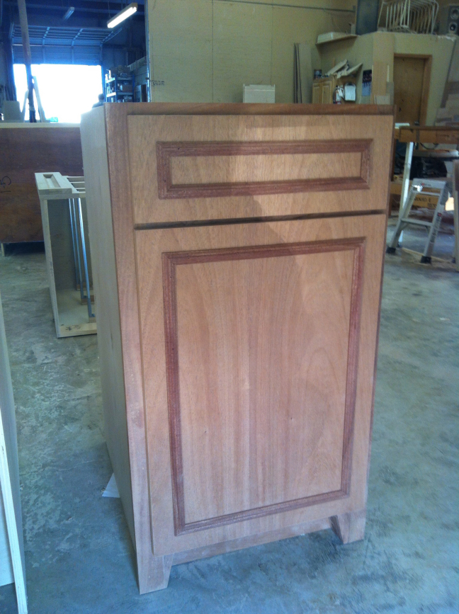 Custom Cabinet in Progress
