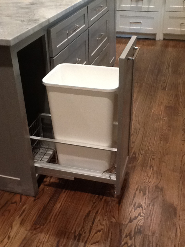 Trash Cabinet Pullout