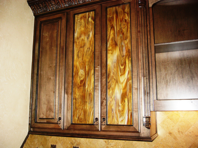 Glass Panel Cabinets